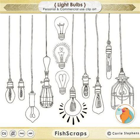 doodle of light 75 sale lightbulb clip wedding string light clipart