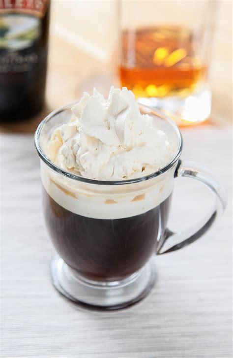 Fancy Coffee Cups Irish Coffee Recipe Baking Beauty