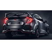 Honda Civic Type R Prototype Races To Paris Show
