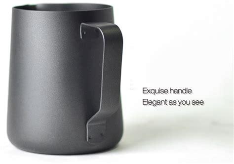 Milk Jug Professional Latte Coffee Latte Cappuccino 350ml 1 kcasa kc bkm03 350ml thick stainless steel expresso mug