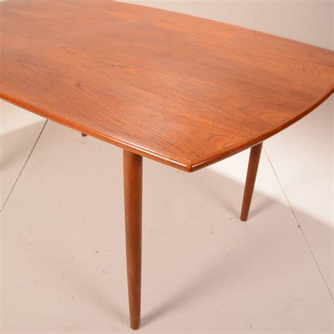 Modern Extending Dining Tables Mid Century Modern Teak Extending Dining Table At 1stdibs