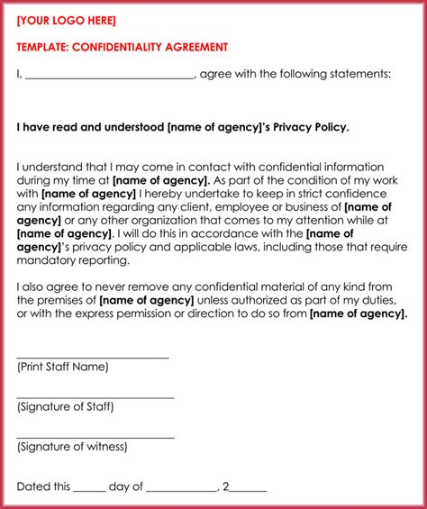 client confidentiality agreements 10 client confidentiality agreement templates forms