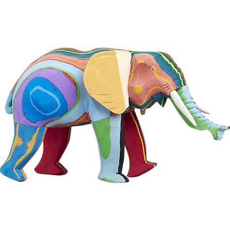 Indian Decorative Items Sustainable Pop Art Decor Elephant Sculpture