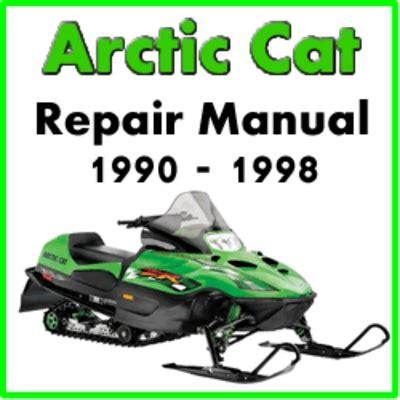 1990 1998 Arctic Cat Snowmobile Service Repair Manual