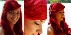 ariel hair color the mermaid hair tutorial ariel mermaid hairstyle