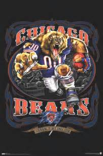 Wall Murals Chicago chicago bears football team mascot poster posters photo