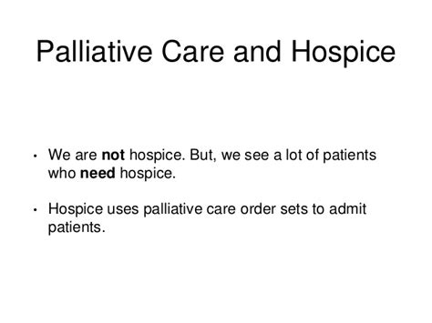 comfort measures in palliative care consolidating improving and novel palliative care order