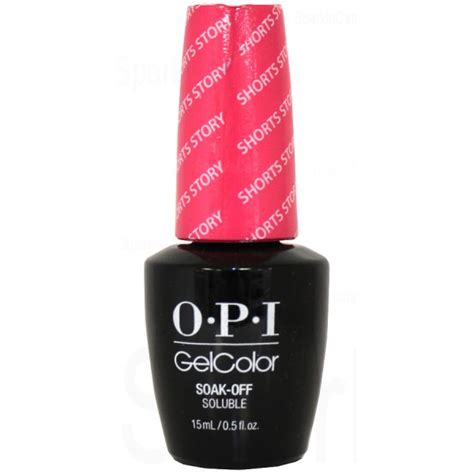 Opi Shorts Story opi gel color shorts story by opi gel color gcb86 sparkle canada one nail place