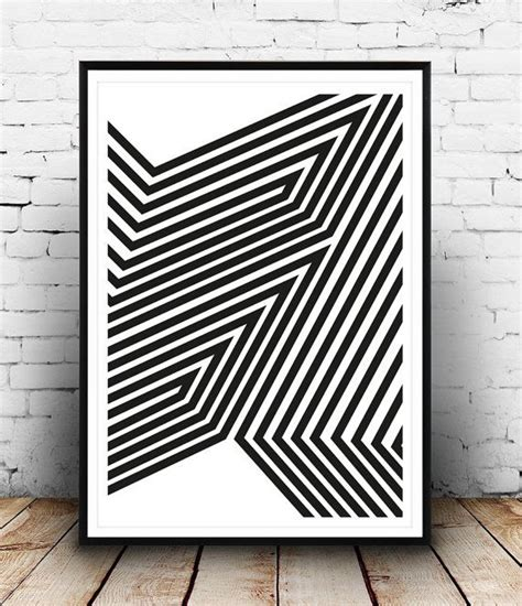 black white abstract decorative art posters at 22 best images about geometric art prints on pinterest