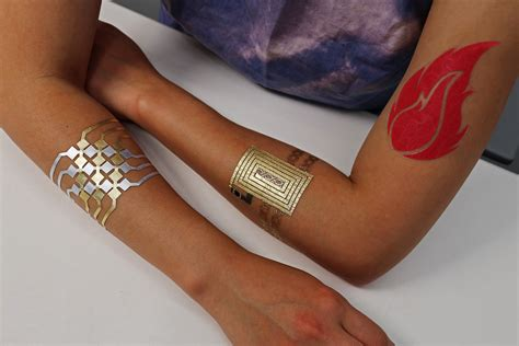 tattoo fake app mit s duoskin temporary tattoos can control your computers