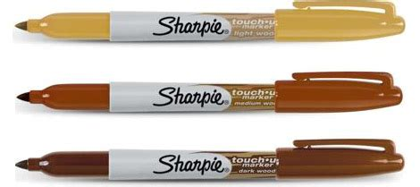 How To Get Sharpie Wood Table by Sharpie Wood Touch Up Permanent Markers Gearculture