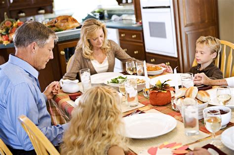 family dinner on finding out where home is and staying there some