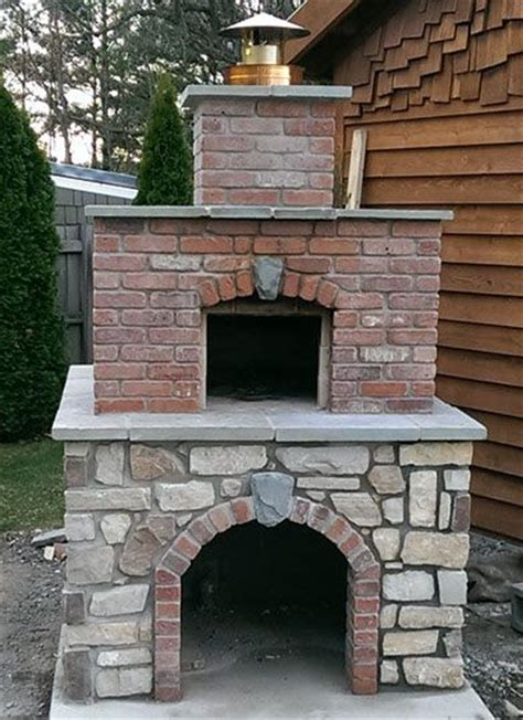 backyard brick pizza oven wood fired outdoor brick pizza oven by the hillman family
