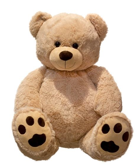 teddy cuddly 100 cm large plush soft soft to the touch
