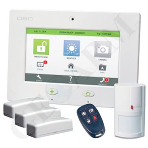 dsc touch cdma verizon cellular wireless security system