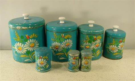 vintage ransburg metal kitchen canisters unique rhinestone design 89 best ransburg canisters images on pinterest kitchen