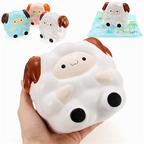 Soft And Slowrise Squishy Hotdog squishy jumbo sheep 13cm rising with packaging collection gift decor soft squeeze newchic