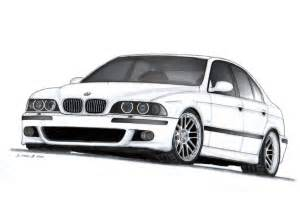 bmw m5 e39 drawing by vertualissimo on deviantart