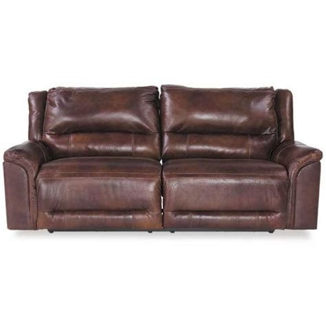ashley brown leather recliner 0c0 766prs brown leather power recline so u7660047 ashley
