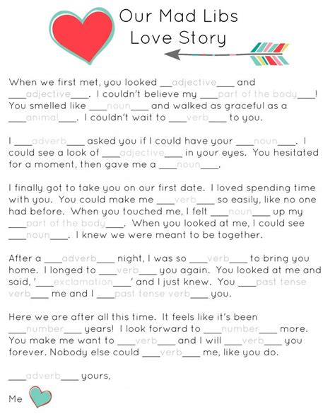 valentines mad libs our mad libs story free printable and laughs