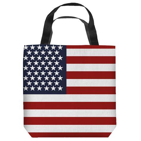 American Tote Bag american flag patriotic tote bag