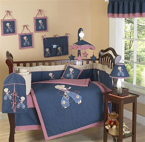 Cowboy Baby Crib Bedding Ride Em Cowboy 9 Piece Crib Cowboy Themed Crib Bedding