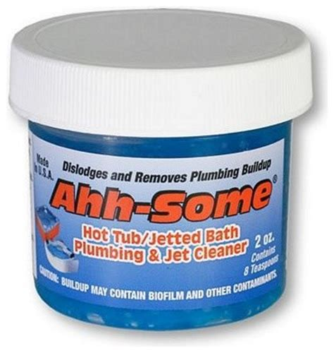 jacuzzi bathtub cleaner ahh some hot tub and jetted bath plumbing jet cleaner gel 2 oz contemporary
