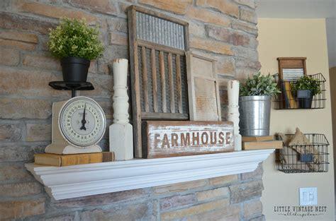 kitchen mantel decorating ideas 28 best farmhouse mantel decor ideas and designs for 2018
