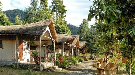 Cottages In Jim Corbett by The Hideaway River Lodge Hotel In Corbett Swiss