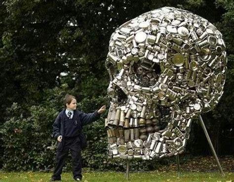 can sculpture tin can sculpture art pinterest tins tin cans and