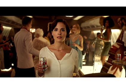 doritos commercial actress airplane diet coke kicks off new get a taste marketing caign