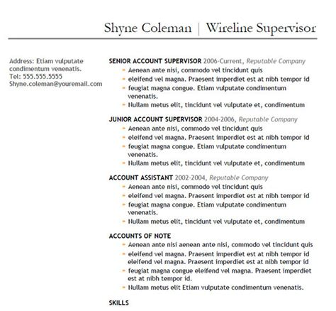 doc 525679 oilfield consultant resume template