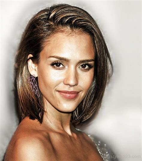 hairstyles jessica alba chin length hairstyles