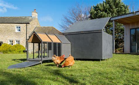design milk chicken minimalist chicken coop by raskl design milk