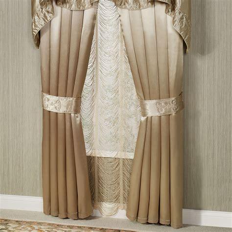 crepes and drapes paris crepe satin curtains