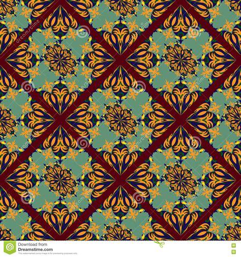 seamless tribal pattern vintage tribal seamless pattern stock vector image 76074826