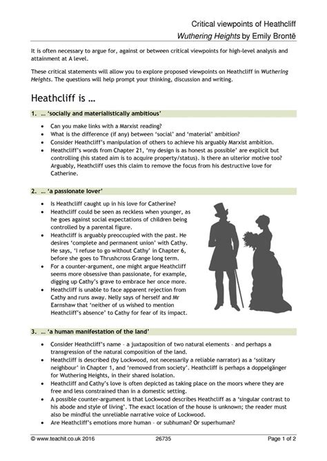 wuthering heights research paper critical paper of wuthering height