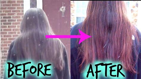 kool aid hair dye for dark hair dying my black hair red with kool aid youtube