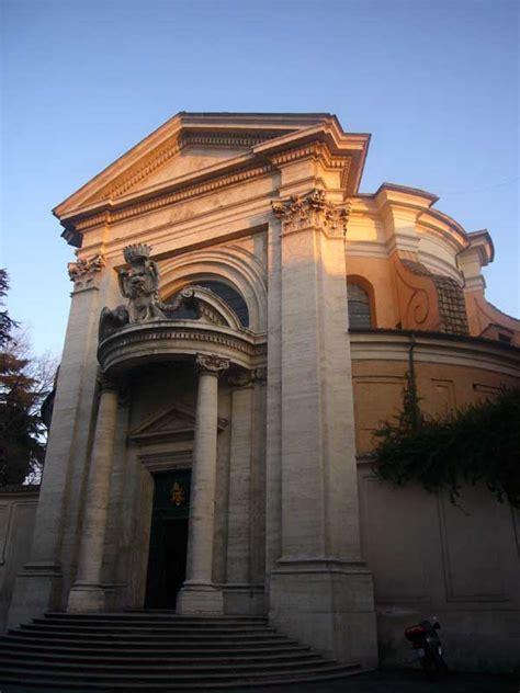 sant andrea al quirinale rome bernini church  architect