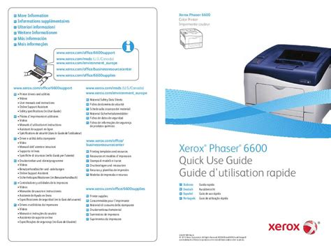 Xerox Cp235w Cover By M mode d emploi xerox phaser 6600 trouver une solution 224