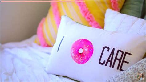 diy decorations alishamarie alisha from you diy i donut care throw pillow room inspiration diys