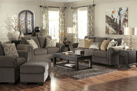 Wolf Trims Suites transitional sofa with nailhead trim coil seating by