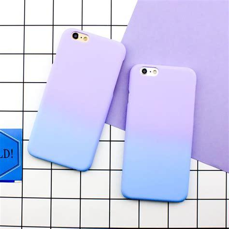 Peekaboo Keroppi 3d Softcase For Iphone 6 6 7 7 fashion simple purple blue matte cover skin