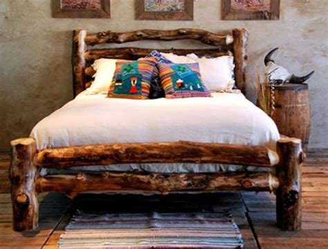 how to make a log bed 25 best ideas about log bed frame on pinterest log bed