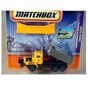 Matchbox Working Rigs Oshkosh P Series Snow Plow  Global