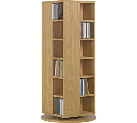Cd Rack Argos by Buy Home Dvd And Cd Storage Unit Oak