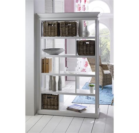 Ikea Bookcase Room Divider Meuble Etag 232 Res Bois Blanc Collection Leirfjord