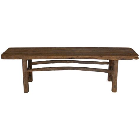 elm bench 19th century elm bench at 1stdibs