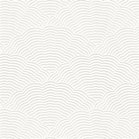 shell patterned blown vinyl white blown vinyl wallpaper embossed textured paintable