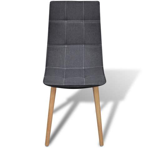 sedie da tavolo articoli per sedia da tavola grigio scuro set 6 pz vidaxl it